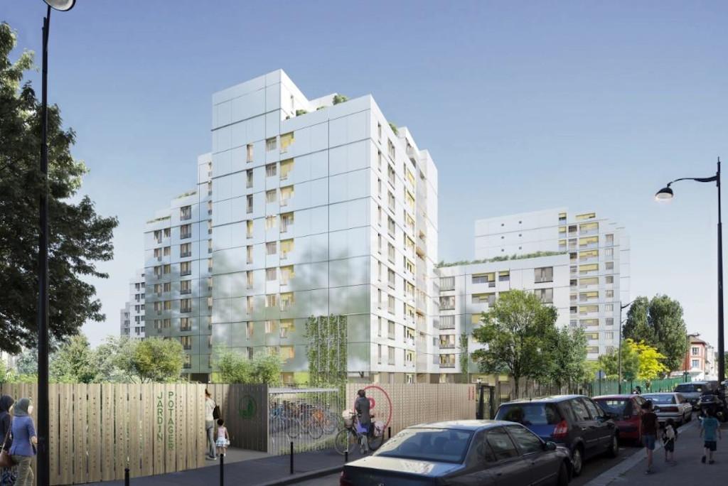 Paris Habitat Cité Blanche