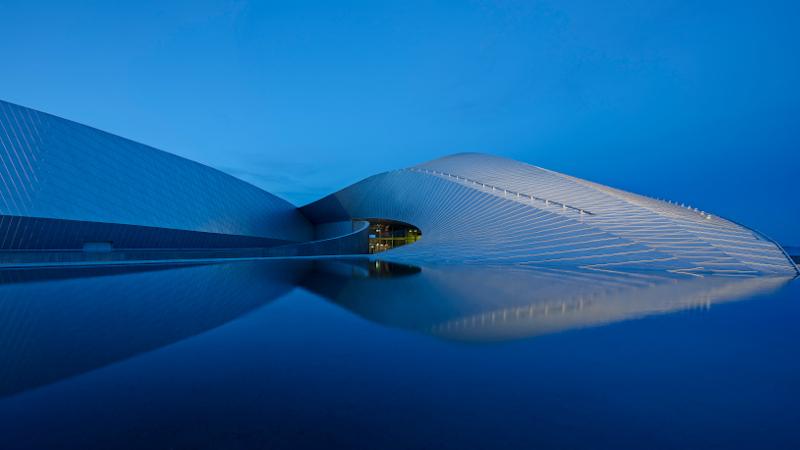 Den Blaa Planet, un aquarium signé 3XN à Copenhague