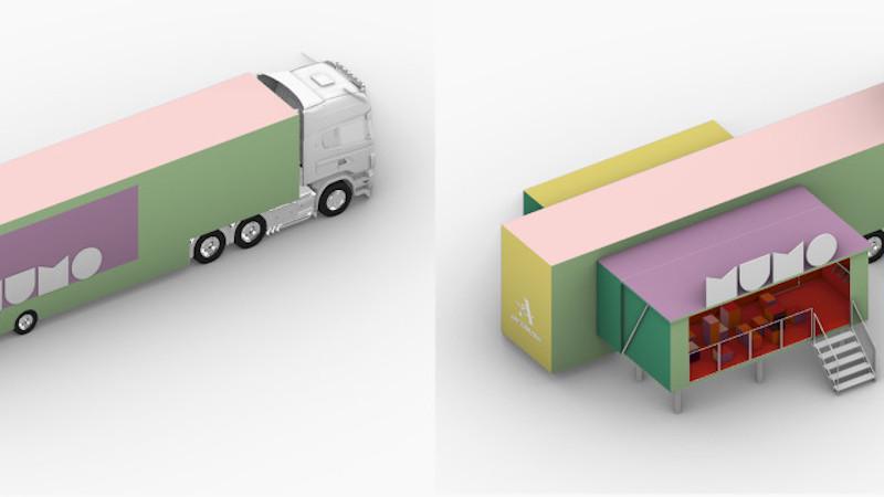 Gros cubes pour le MuMo x Centre Pompidou, par Hérault Arnod