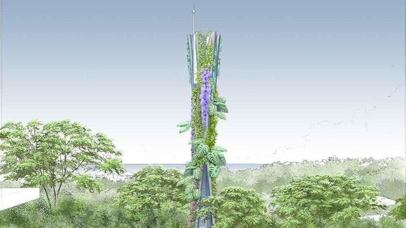 Du pavillon au pylône végétalisé, l'impression 3D utile à l'architecture ?