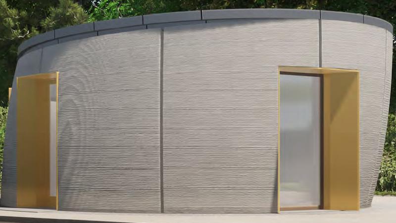 Sphère, un pavillon imprimé en 3D à Harfleur signé Archétude