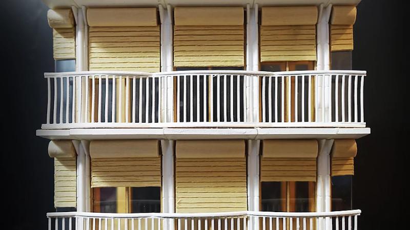 Près l'Université de Chicago, 89 logements familiaux signés Parc architectes