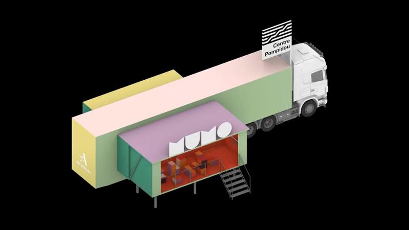 Le MuMo, ou le camion-musée signé Hérault-Arnod