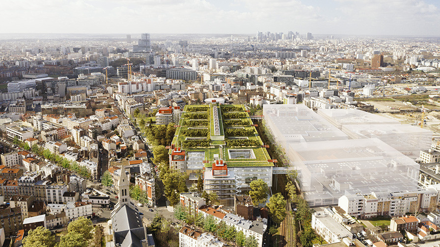 Grand Paris-Nord Renzo Piano