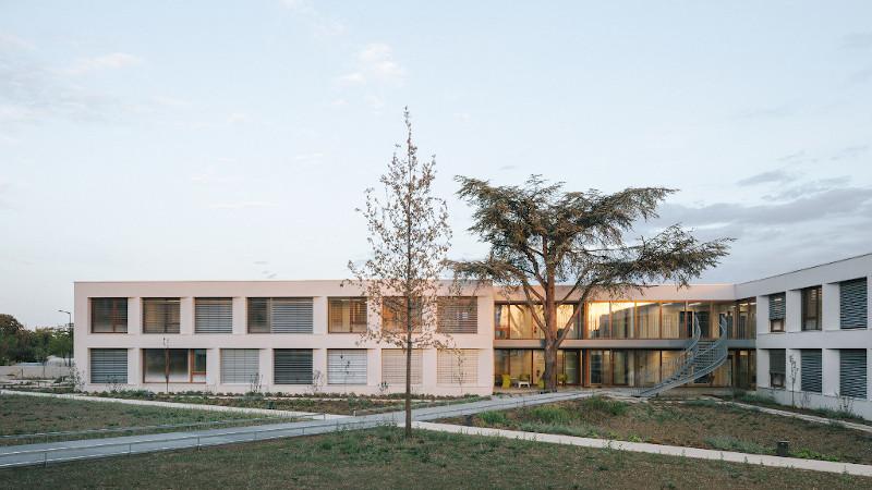 Clinique médico-pédagogique à Vitry-le-François, par Vallet de Martinis