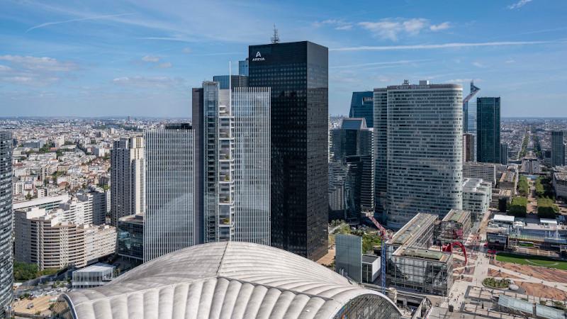 A La Défense, pour des bureaux, la Trinity selon Cro&Co