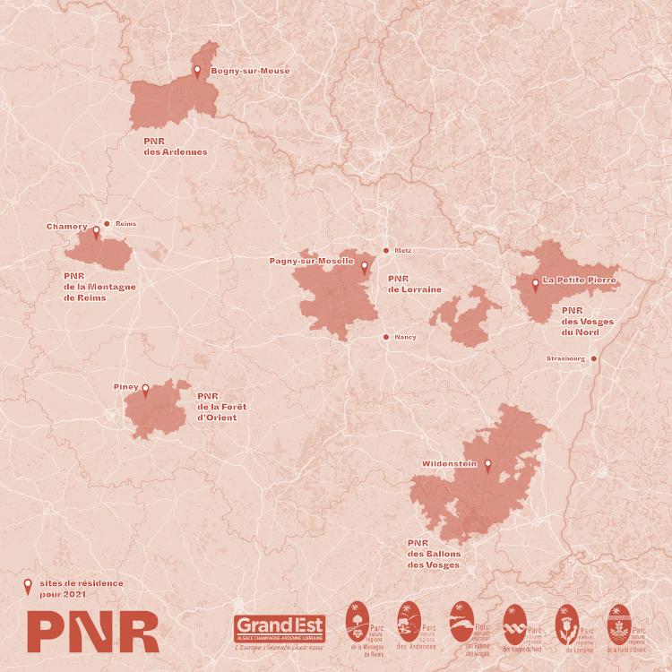 Nouvelles ruralités carte résidences 2021