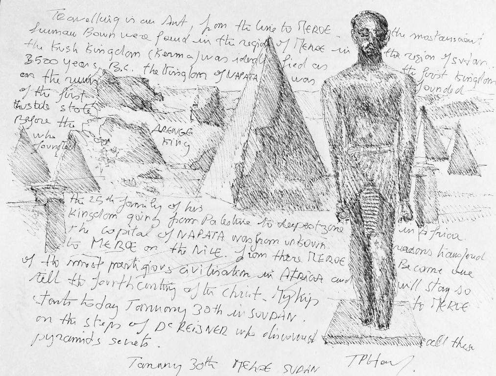 Pyramides de Méroé Soudan