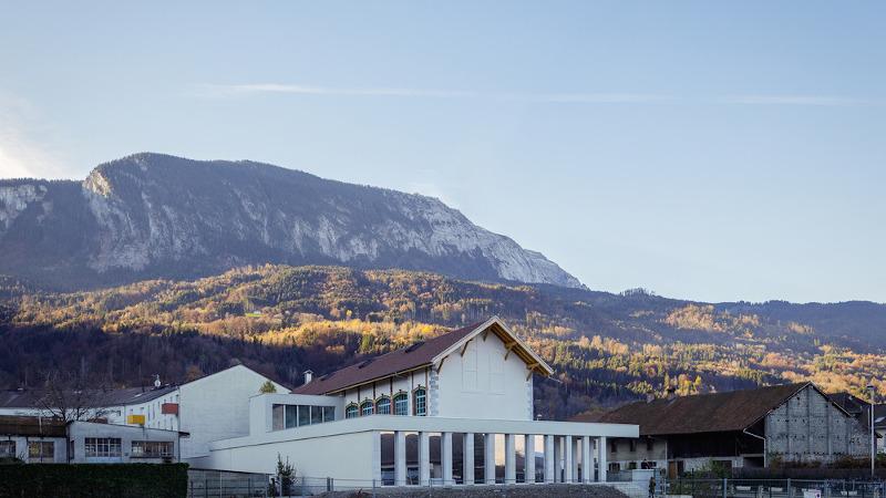Centre culturel Alpex, à Scionzier, par Atelier Archiplein