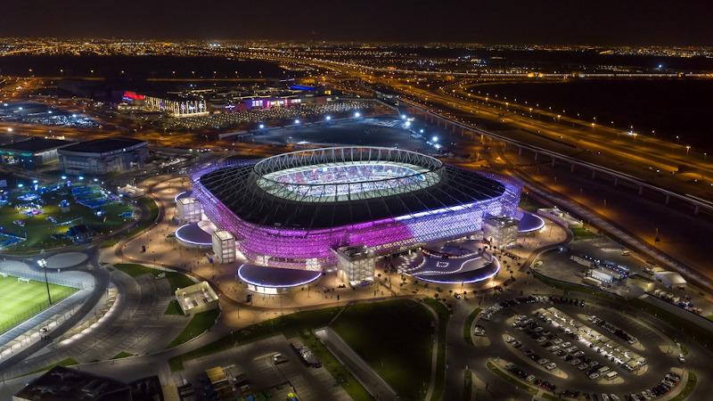 Au Qatar, le ciel entoilé du Stade d'Al Rayyan selon Pattern Architecture