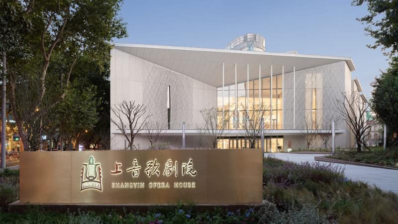 A Shanghai, l'opéra est signé Christian de Portzamparc