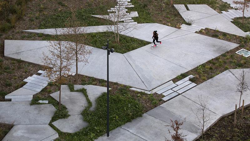 Les espaces publics à l'air libre de Clément Guillaume