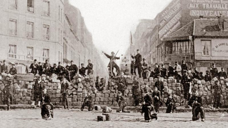 Commune de Paris, de la barricade à la ruine, une question de point de vue