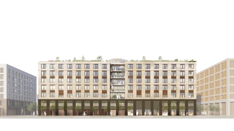 115 logements et des bureaux : DREAM éveillé à Paris-Saclay