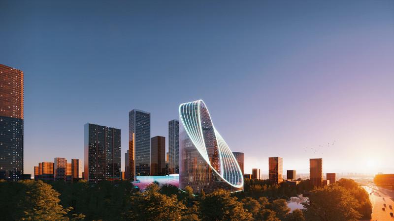 A Hangzhou (Chine), trop BIG le siège d'OPPO ?