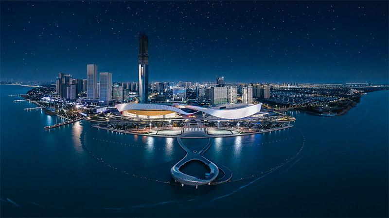 Palmarès AFEX 2021 - 2Portzamparc - Centre culturel - Suzhou – Chine