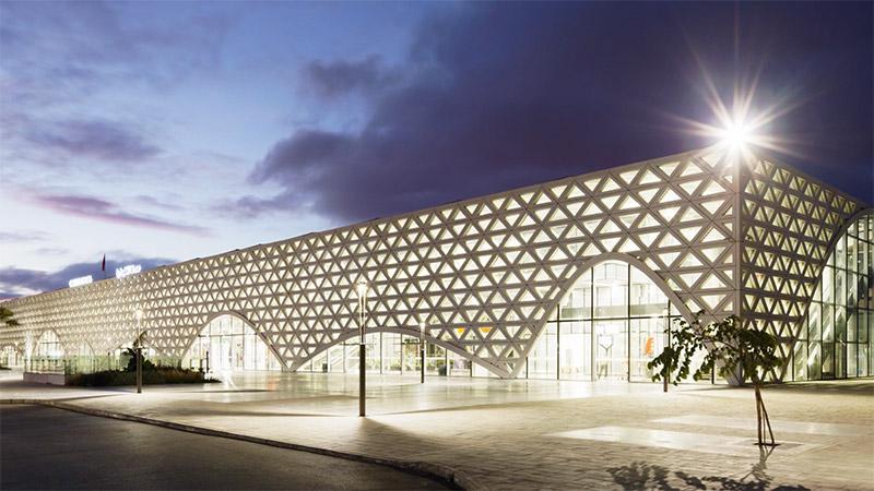 Palmarès AFEX 2021 - Silvio d'Ascia Architecture et Omar Kobbite Architectes - Gare TGV - Kenitra – Maroc