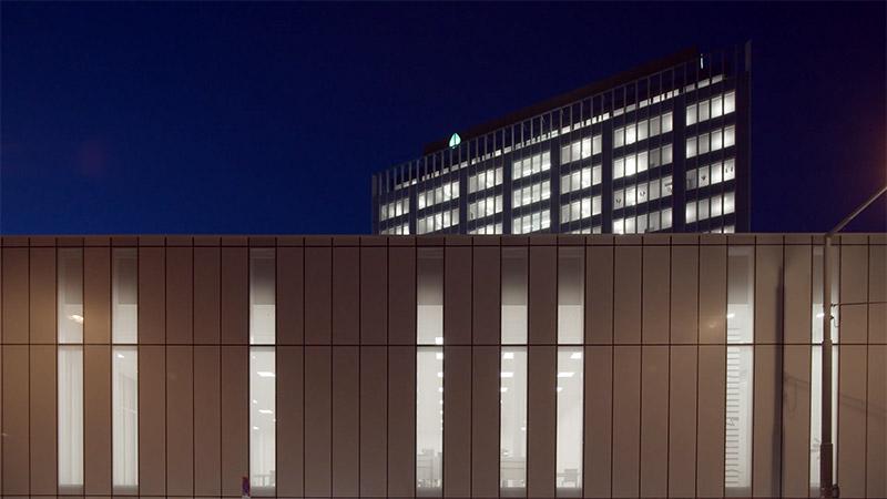 Palmarès AFEX 2021 - Chaix & Morel et Associes - Rénovation et extension du siège de la Sécurité Sociale - Vienne – Autriche