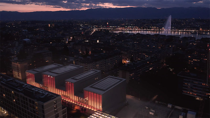 Palmarès AFEX 2021 - Fres Architectes - Théâtre de la Nouvelle Comédie - Genève – Suisse