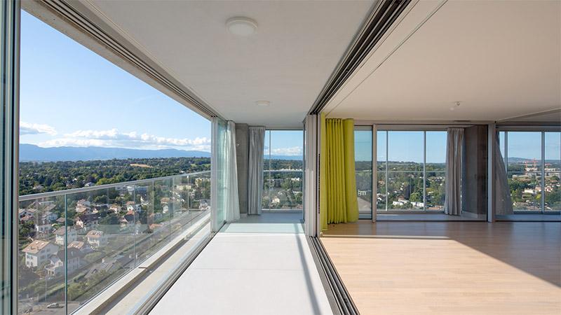 Palmarès AFEX 2021 - Lacaton & Vassal Architectes - Tour Opale - Chêne-Bourg – Suisse