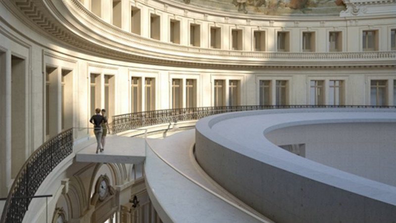 Bourse du commerce, de la beauté, de Tadao Ando, de la fortune