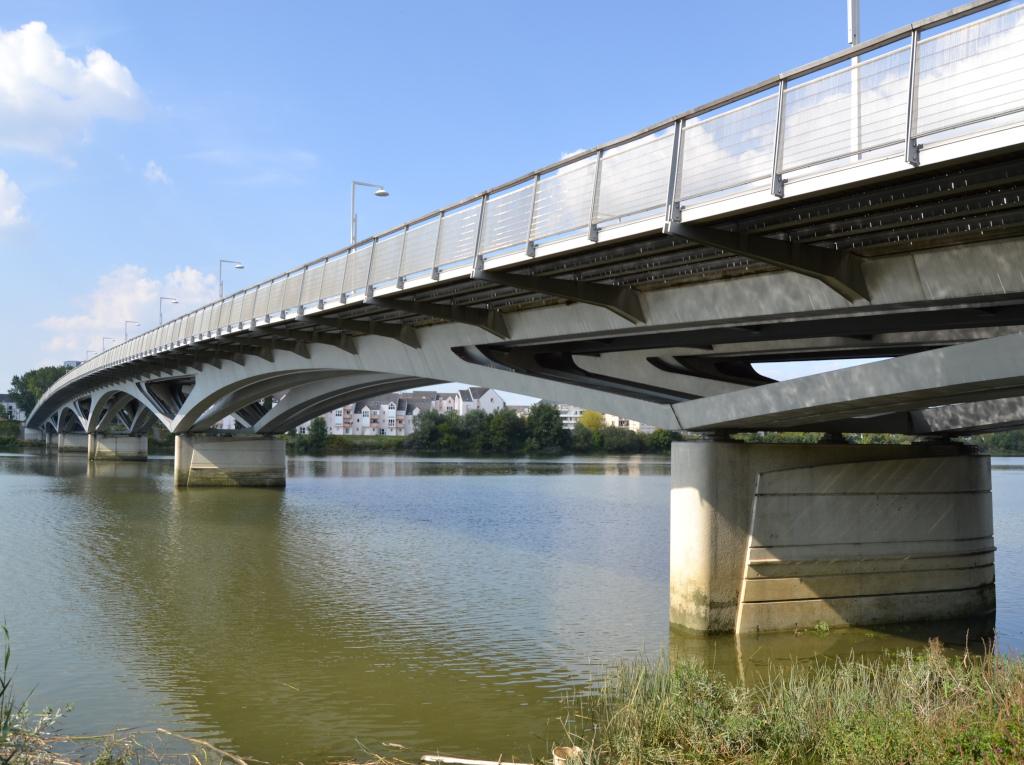 Pont Léopold Sédar Senghor, Marc Mimram