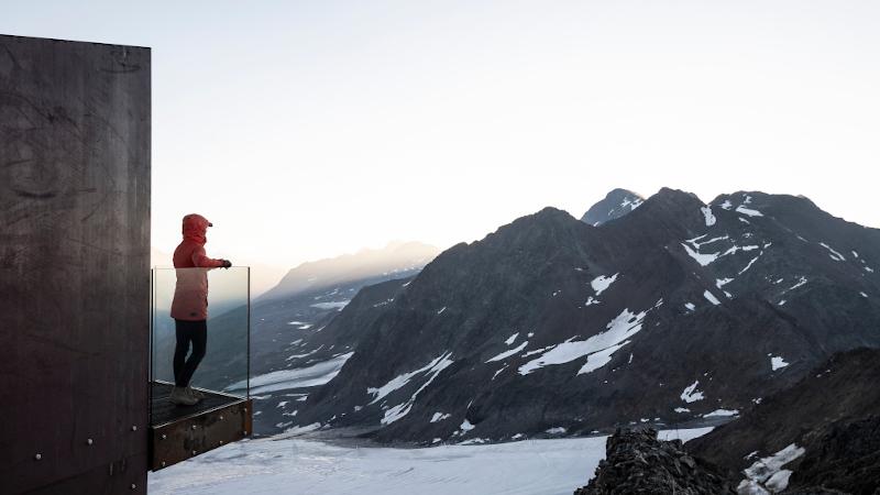 Ötzi Peak : l'observatoire signé noa, vue sur la (très) grande histoire