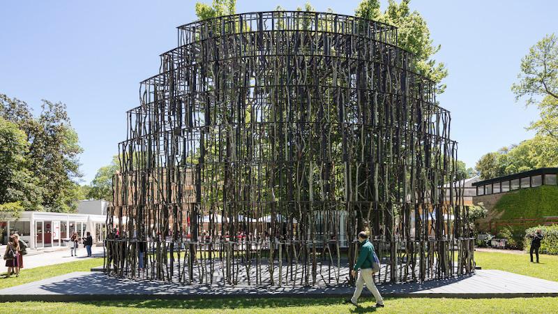 A Venise, le Pavillon des Oiseaux de Patrick Berger