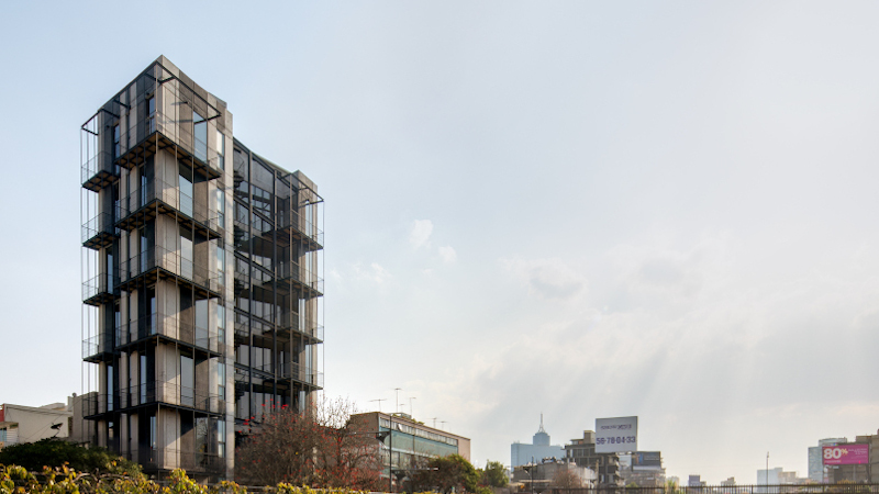 A Mexico, Yuno Apartments par Atelier Arqmov