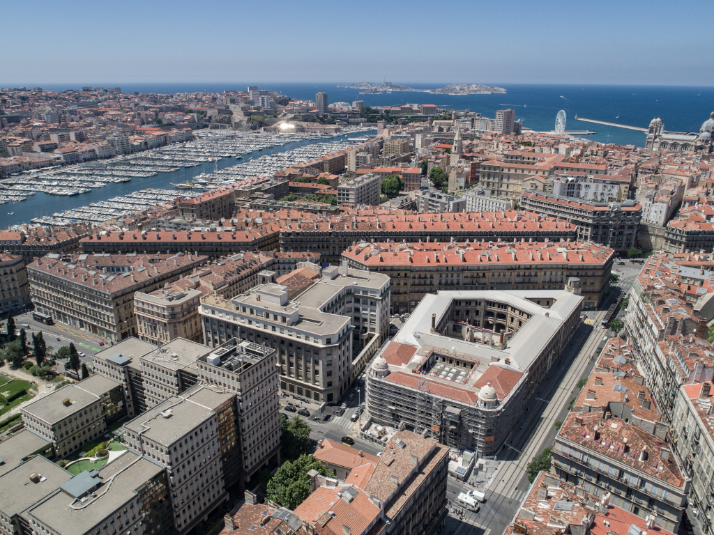 Hôtel des Postes Marseille Colbert Roland Carta