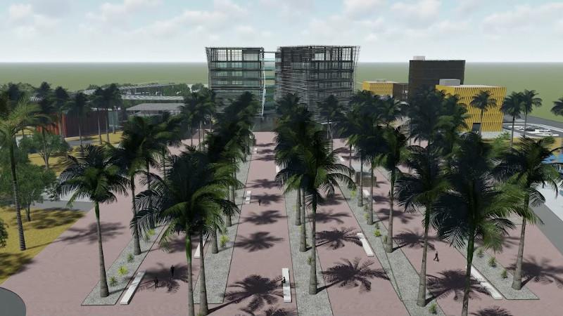 Parc des Technologies Numériques de Diamniadio au Sénégal, signé IDOM
