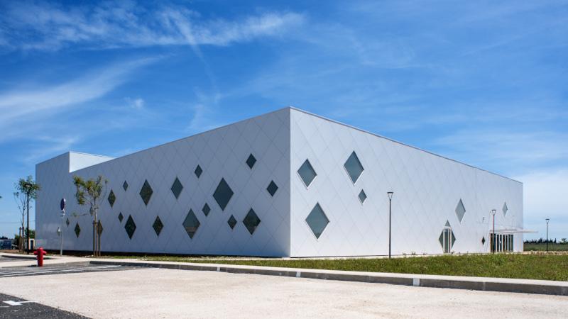 L'agora gymnase, signé Chabanne, projet emblématique pour Bouillargues