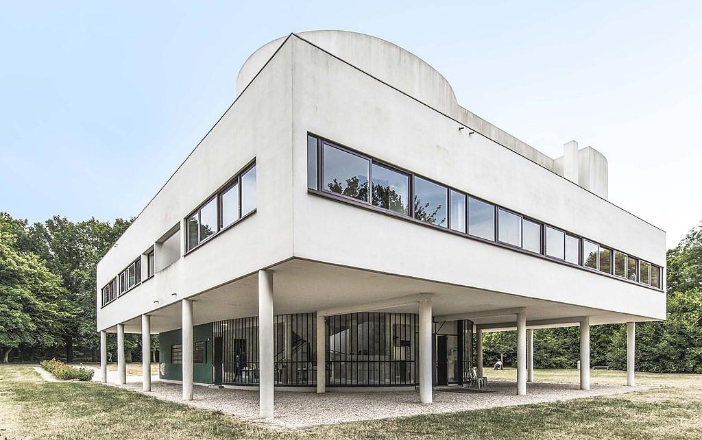 TDF étape 21 Villa Savoye