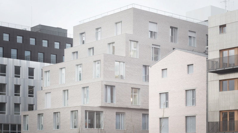Foyer Paul Meurice, à Paris, des pièces à ciel ouvert selon Lambert Lénack