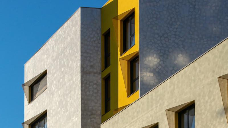 A Nice, Séméio architecture livre une résidence hôtelière à vocation sociale