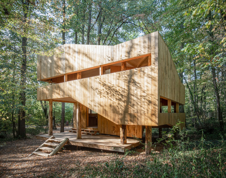 Maison 100% bois