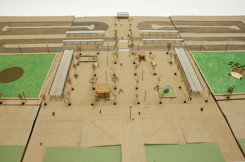 Model of The Modernist Glade